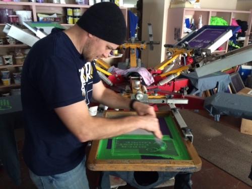 Adam printing shirts
