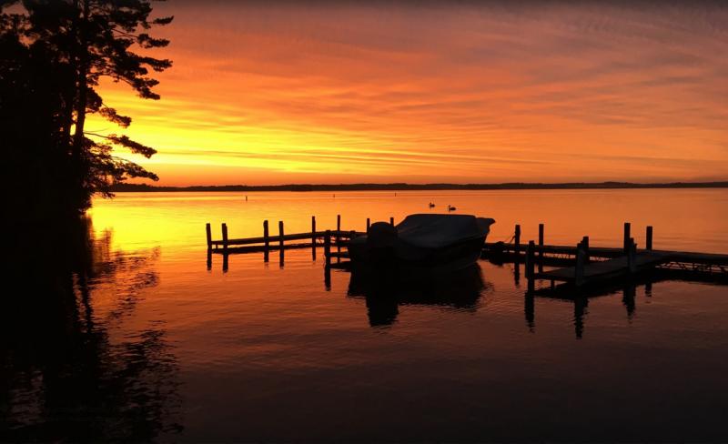 Dock Sunset Carboni