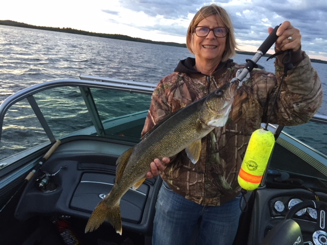 walleye fishing MN